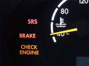Mercedes SRS Light On, what does it mean? | Autoscope