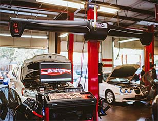 Houston BMW Tire Service and Alignment   Lucas Auto Care